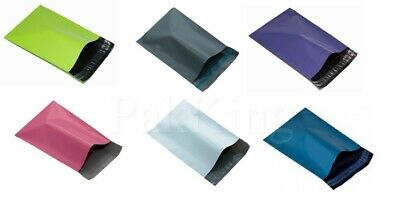 Any Size/Any Colour/Any Qty COLOURED MAILING BAGS Strong Value Postal Mailers