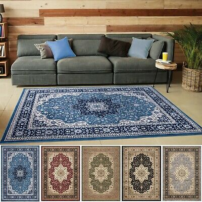 Small Medium Large Traditional Rug Runner Living Room Bedroom Oriental Carpet