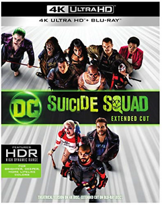 Action/Adventure-Suicide Squad (Blu-Ray/4K-Uhd-Mastered/2016 (Us Import) Dvd New