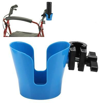 Universal Clip-on Cup Bottle Holder Cage For Bicycle/Walker/Wheelchair/Rollator