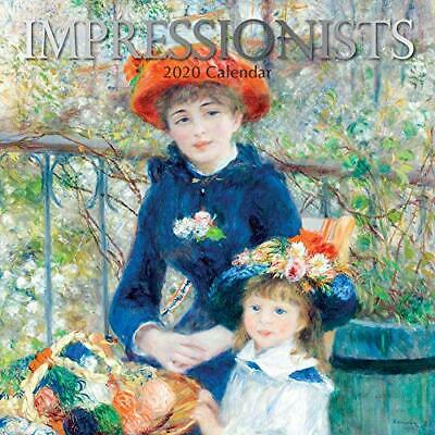Impressionists: 2020 Square Wall Calendar