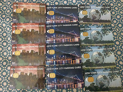 New York City Parking Card Set 12 - World Trade Center Statue of Liberty NYC ..