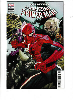 Amazing Spider-Man Marvel Comics #17 NM- 9.2 Hunted,Peter Parker,Mary Jane 2019