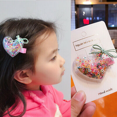 Children Cute Bow Hairpins Hair Rope Baby Girl's Lovely BB Clip Hair Accessories