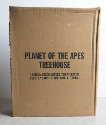Mego Planet of the Apes Treehouse Tree House Playset JC Penny Mailer Minty