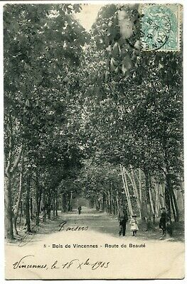 CPA - Carte Postale - France - Vincennes - Route de Beauté - 1903 (I10142)