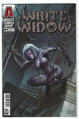 White Widow # 1 Benny Powell Foil Cover Edition !!  Vf/Nm