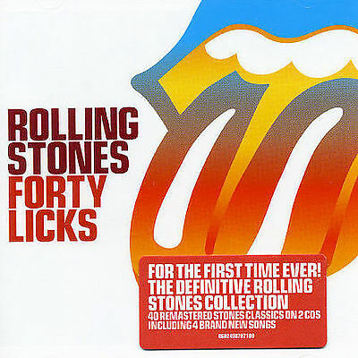 Forty Licks [Remaster] by The Rolling Stones (CD, Apr-2005, 2 Discs, Universal)