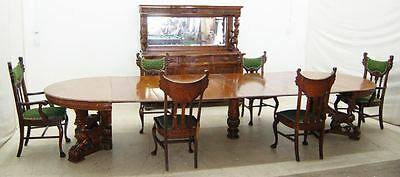 8 pc. RJ Horner Victorian Oak Dining Room Suite 8-Pc #7773
