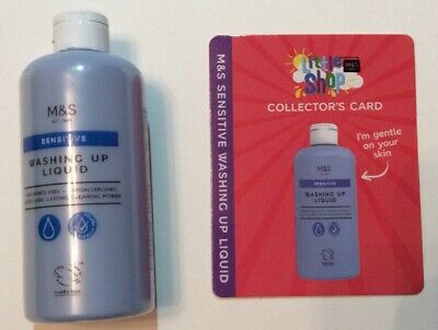 Marks and Spencer (M&S) / Little Shop - Mini Collectable / Washing Up Liquid
