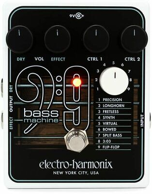 Electro Harmonix Bass 9 Bass Machine Effects Pedal