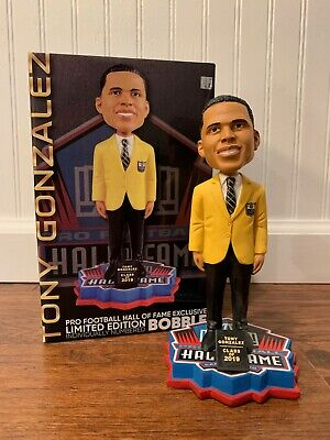 Tony Gonzalez 2019 FOCO Pro Football NFL Hall of Fame Bobblehead KC Chiefs UCLA
