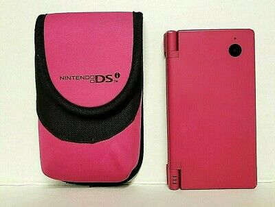 Nintendo DSi video game console Hot Pink with foam case {no charger or stylus}