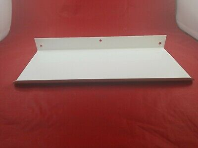 Vintage White Porcelain Bathroom Wall Mount Shelf Never Used  Lot(730-62)vc