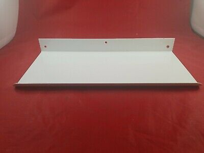 Vintage White Porcelain Bathroom Wall Mount Shelf Never Used  Lot(730-60)vc