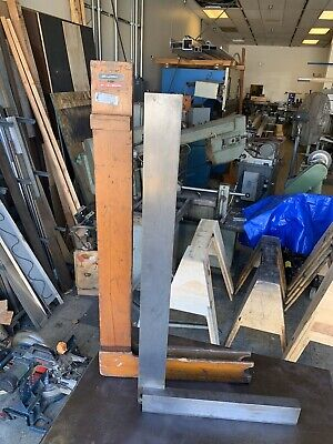 "L.S. Starrett Co. Large 36"" Machinist Square"