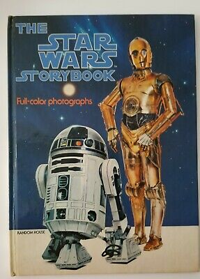 Vintage 1978 THE STAR WARS STORYBOOK Hardcover NEW SOLO SKYWALKER LEIA C3P0 R2D2