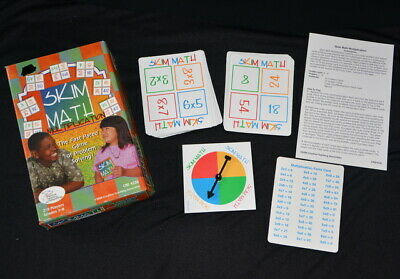 MULTIPLICATION GAME Times Tables GLEN IRIS home school Skim Maths learning tool