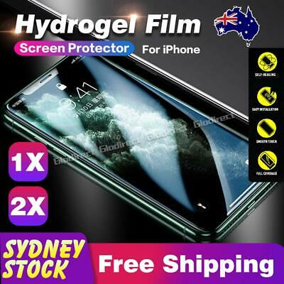 For Apple iPhone 11 Pro Max HYDROGEL Screen Protector Film Guard Full Coverage