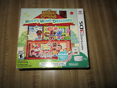 Animal Crossing: Happy Home Designer Bundle - Nintendo 3DS NFC READER Brand New!