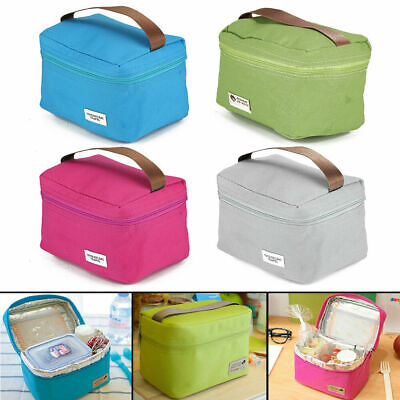 Childrens Adult Kids Lunch Bag Cool Bag School Gift Insulated Bags Lunchbox UK