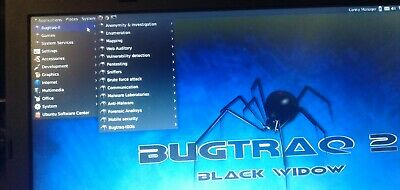 LINUX, BUGTRAQ 2 BLACK WIDOW,   SECURITY system , HACKING, VULNERABILITY TESTING