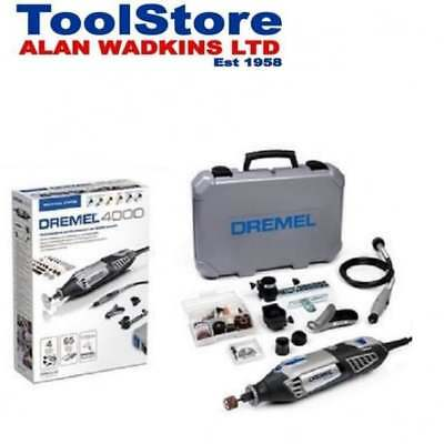 Dremel 4000-4/65 240v Multi Tool With 4 Attachments + 65 Accessories F0134000JR