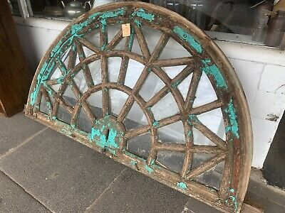 Antique Indian Architectural Arch Window