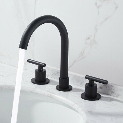 Two Handle Kitchen Sink Faucet Oil Rubbed Bronze Sprayer Brushed Nickel 8 inch