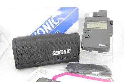 [Mint] Sekonic L-318 DIGILITE Exposure Meter w/ Case, Attachment and so on