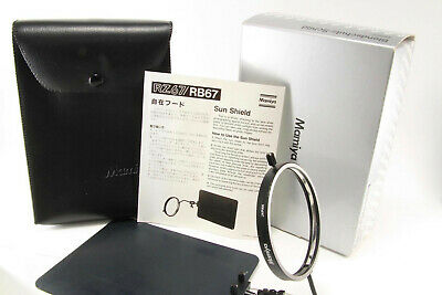 Mamiya Sun Shield for RB67 [Excellent w/ Box, case and manual