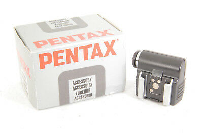 Pentax Hot Shoe Adapter F [Mint] w/ Box From Japan