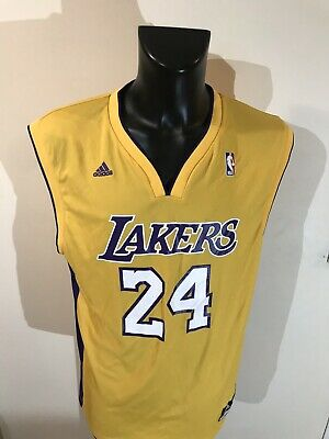Maillot Basket Ancien Lakers Numero 24 Bryant Taille L