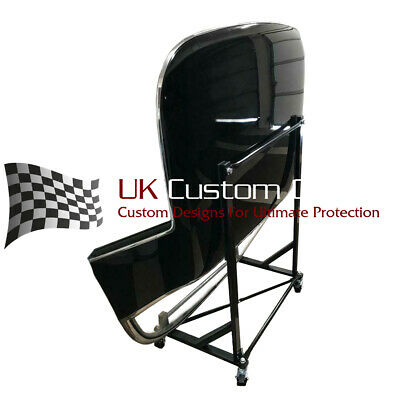 Mercedes Convertible Hardtop Stand Storage Trolley - Black 050