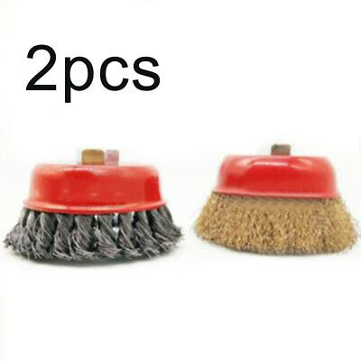 Drill Cup brush Cleaning Remover Replacement Tool Wheel Parts 3 inches