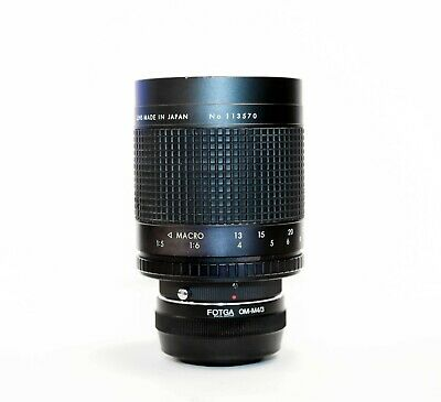 Micro Four Thirds Adapted Rokinon 500mm f8 Mirror Lens Olympus OM