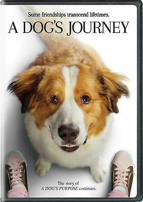 A DOG'S JOURNEY 2019 DVD with Slipcover Brand New & Sealed USA FREE SHIPPING
