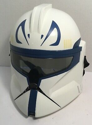 Adult Size Star Wars Storm Clone Trooper Captain Rex Half Mask not voice active