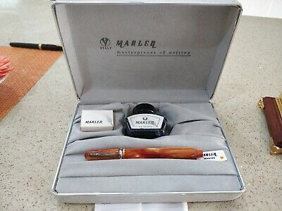 Marlen Fountain Pen Italy Numbered Edition AMBER 2005