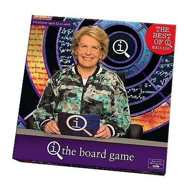 BBC The Best Of QI The Board Game Family Quiz Trivia Game