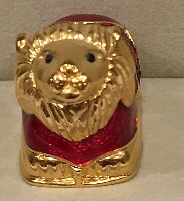 Estee Lauder By Judith Leiber Solid Perfume Compact - Lion