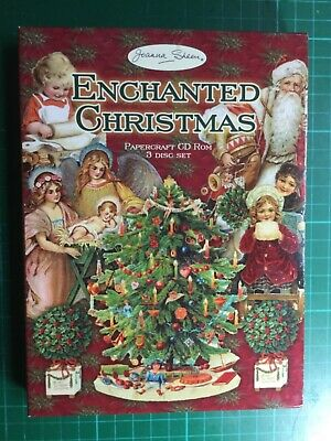Joanna Sheen Enchanted Christmas 3x CD, card making, papercrafting