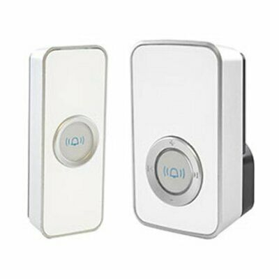 Lloytron 32 Melody Mains Plug-in Wireless D/Chime with MiPs B7505WH