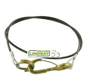 Heavy Duty Breakaway Cable For Trailer Horsebox Caravan Hitch  Ring Type Fitting