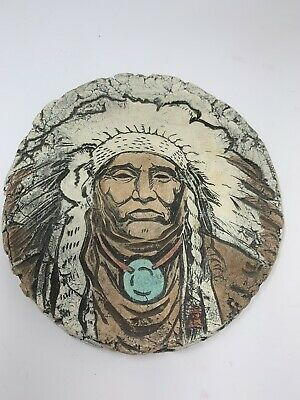 """Native American Art Wall Decor Shapes of Clay by Stan Mt. St. Helens Ash USA 7"""""""