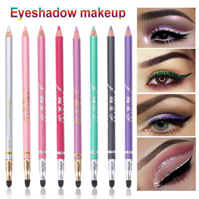 Tools Matte Eye Liner Pen Eyeliner Pencil Pigment Glitter Shimmer Eyeshadow