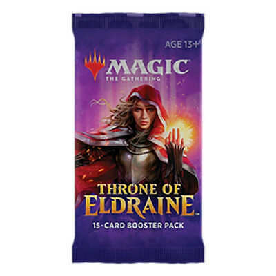 Magic The Gathering: Throne of Eldraine - 4 Booster Pack - Brand New
