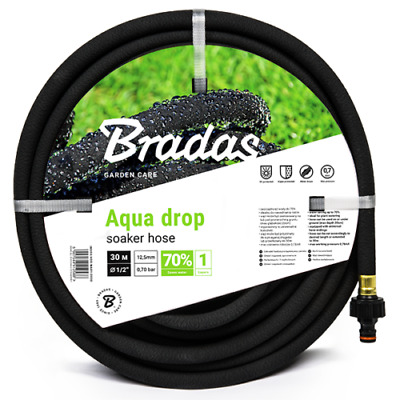 Porous Pipe/ Soaker Hose/ Leaky Pipe - All sizes up to 200m - Fast Dispatch