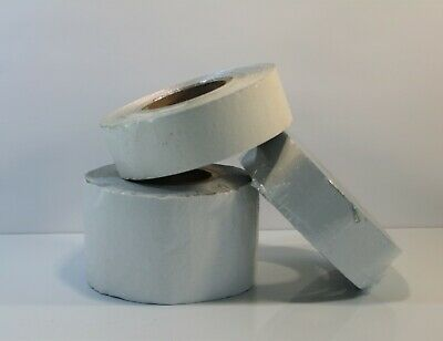 "Bulk Outdoor Pavement Marking Tape - Lot of 3 White 2"" x2- 1 White 4""  -LOT 14"
