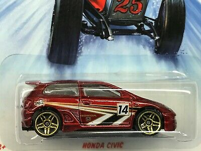 Hot Wheels 2015 Holiday Rods Honda Civic Walmart Exclusive #5/8